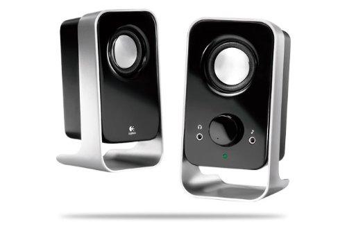 Logitech Ls11 Multimedia Speaker System (Black And Silver) (980-000048)