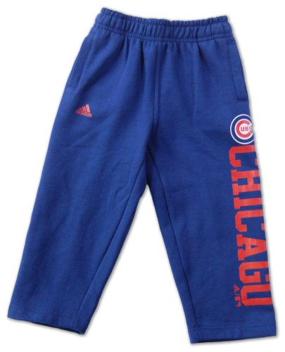 Chicago Cubs Toddler Team Color Fleece Pants by Adidas - Royal at Amazon.com