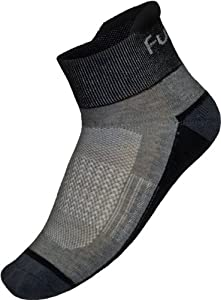 Funkier Summer Cycling Socks in Grey - 35-38