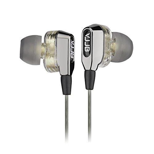 マイク付きカナル型イヤホン 高音質 ツインドライバー搭載 全機種のスマホに対応 VJJB-V1s