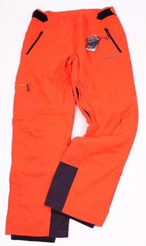Gr. L / 52 Orig. HEAD Pioneer Pant Men Mandarine Neon Orange 2013/14 Skihose NEU