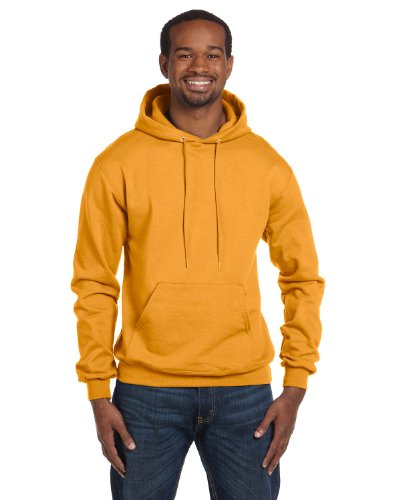 Champion Men's Double Dry Eco Pullover Hood oro Large