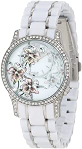 Ed Hardy Women's JA-WH Jasmine White Watch