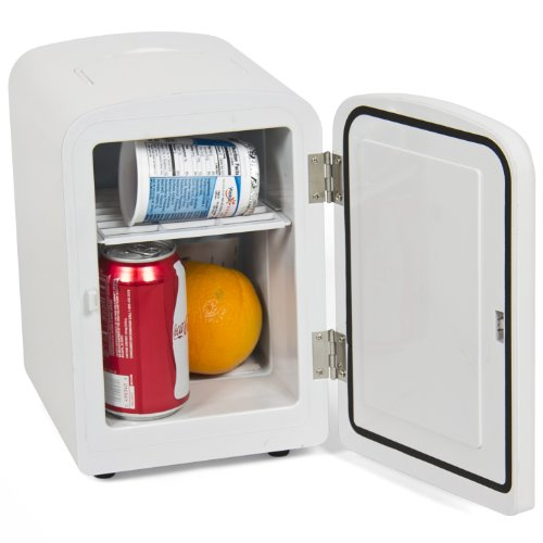Purchase Portable Mini Fridge Cooler and Warmer Auto Car Boat Home Office Ac & Dc White
