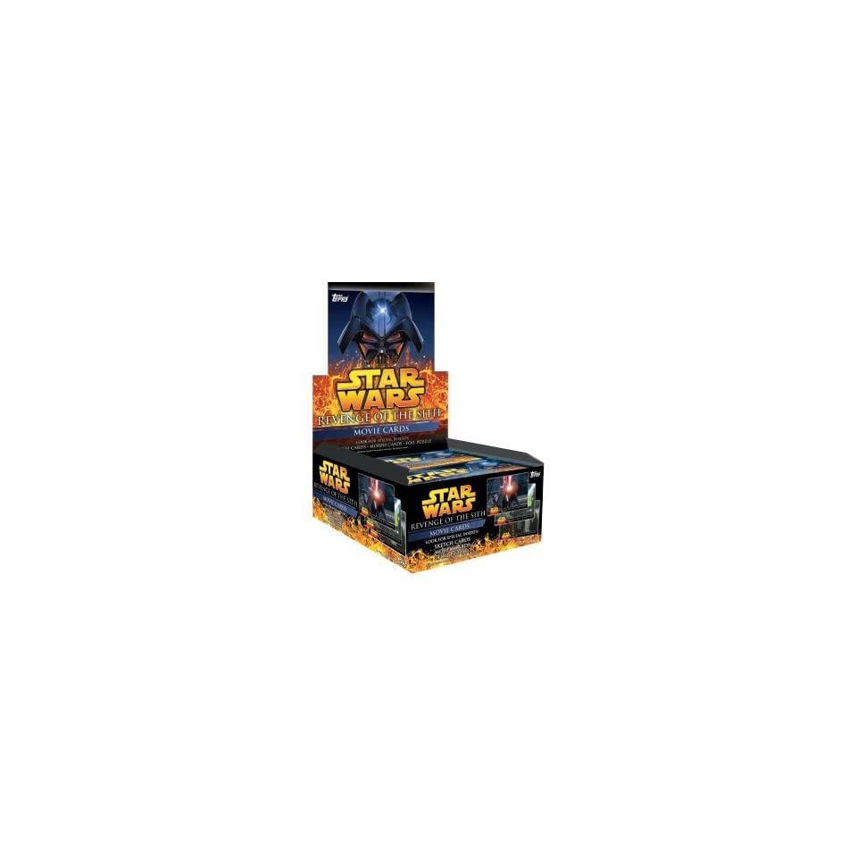 Star Wars Revenge Of The Sith Trading Cards Retail Box   24P7C