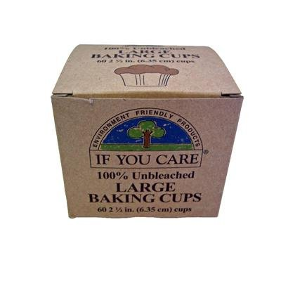 If You Care Baking Cups,brown 2.5in, 60 Ct