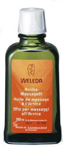 Weleda Arnica Massage Oil - 3.4 Ounce (100 ml)