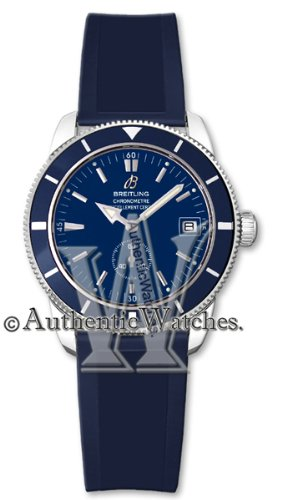 Breitling Superocean Heritage 38 Blue Dial Mens Watch A3732016-C735SS
