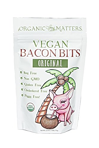 Vegan Bacon Bits - USDA Organic - Crunchy plant based
