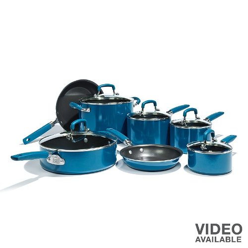 Bobby Flay 12-pc. Nonstick Aluminum Cookware Set