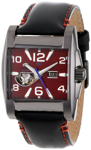 Orient Herren CDBAA004H Semi-Skeleton Red Automatic Watch