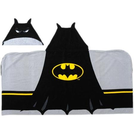 Batman Logo Hooded Towel by Franco Manufacturing