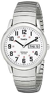 "Timex Men's T20461 ""Easy Reader"" Stainless Steel Watch"