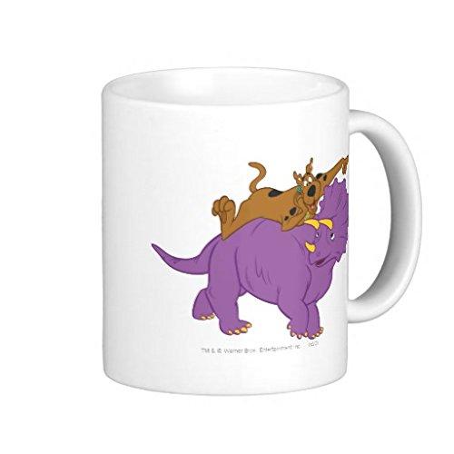 Scooby Doo Riding Triceratops2 Coffee Mug