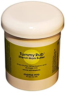 Mama Mio Tummy Rub Stretch Mark Butter, 16 Ounce
