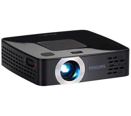 Philips PicoPIX PPX2450 55 Lumens Pocket LED Projector with Integrated Media Player and 2GB Memory