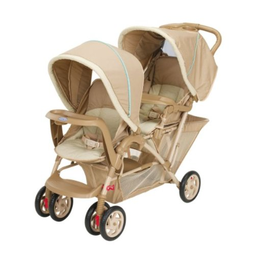 Graco DuoGlider Double Twin Stroller - Barrett