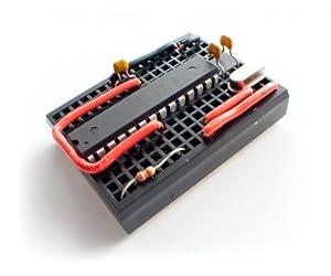 Virtuabotix Bareduino - Barebones Arduino Compatible Microcontroller by Virtuabotix
