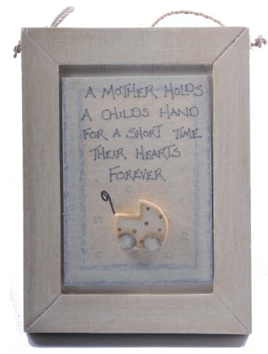 East of India Mother Plaque - New Mum or Baby