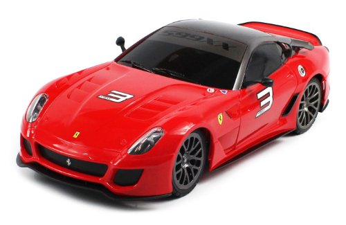 OFFICIALLY Licensed Electric Full Function 1:18 Ferrari 599XX RTR RC Car