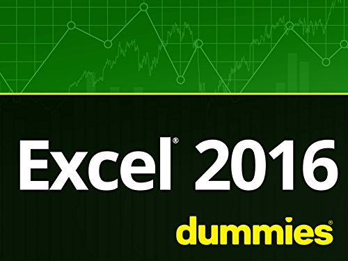 Excel 2016 For Dummies Video Training - Season 1
