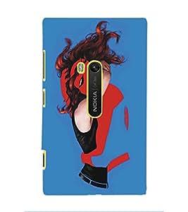 PRINTSWAG SUPERHERO Designer Back Cover Case for NOKIA LUMIA 920