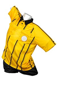Kwik Goal Premier Referee Jersey, Yellow, Medium