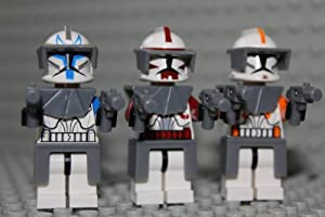 "LEGO Captain Rex Cody & Fox - Commander 2"" Minifig"