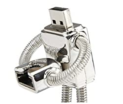 Wewdigi Really 32GB Robot Flash Drive (silver) + gift box