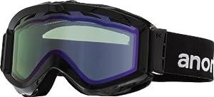 Anon Figment Goggles, Black - Blue Lagoon