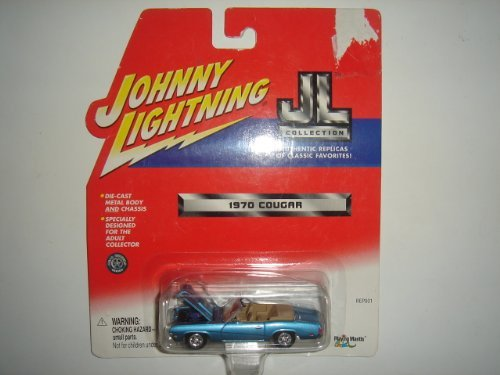 2002 Johnny Lightning JL Collection 1970 Cougar Light Blue