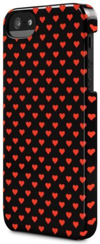 Incase Hearts Snap Case for iPhone 5 - Multi Hearts Black - CL69185 by Incase [並行輸入品]