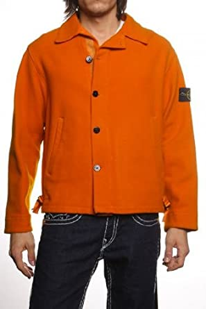 Stone Island winter jacket , Color: Orange, Size: L