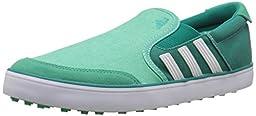 adidas Men\'s Adicross SL Golf Shoe, Bright Green/White/Power Green, 9 M US