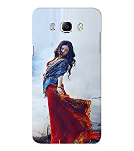EPICCASE Traditional Look Girl Mobile Back Case Cover For Samsung J7 2016 (Designer Case)