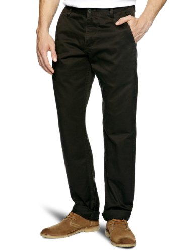 Dockers Alpha Khaki Tapered Men's Trousers Frontier Brown W34INxL34IN