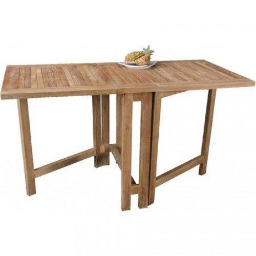 Klapptisch 'Butterfly' Terrassentisch Holztisch Balkontisch Gartentisch Teakholz jetzt bestellen