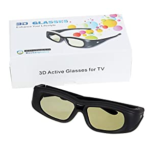 ACTIVE 3D Glasses for Sharp Aquos LC-60LE835U, LC-52LE835U, LC-46LE835U, LC-40LE835U; Sharp Aquos LC-70LE847U, LC-60LE847U; Sharp Aquos LC-52LE925U, LC-60LE925U, LC-60LE925UN, LC-52LE925UN