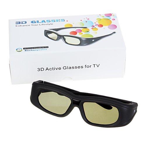 noir universelles 3d lunettes actif obturateurs ir. Black Bedroom Furniture Sets. Home Design Ideas