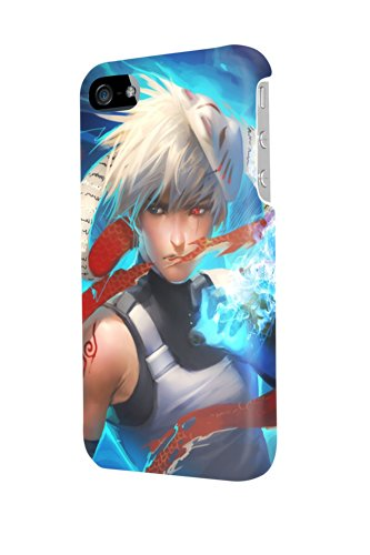 ip40742 younger kakashi Glossy Case Cover For Iphone 4/4s