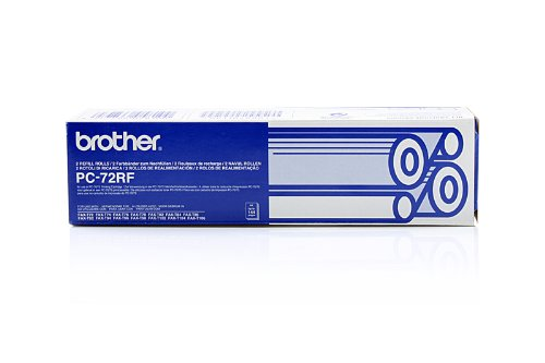 Brother Fax T 92 - Original Brother PC72RF / 27720 - Ruban Thermique - Double Pack -