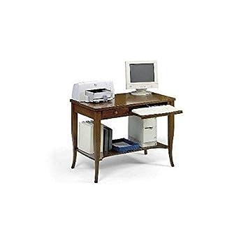 Arte Povera Wooden Computer Desk