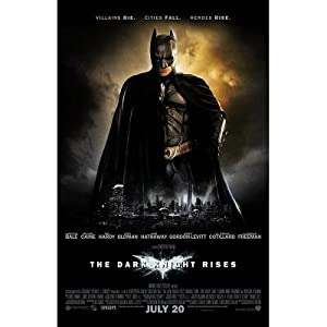 The Dark Knight Rises Heroes Rise Movie Poster