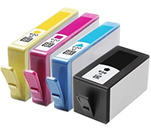 Compatible HP 920XL Black & Colour Ink Cartridge 4 Pack
