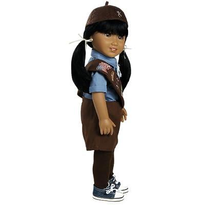 Adora Dolls Jasmine Girl Scout Brownie 18-Inch Doll
