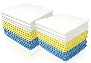 Royal Microfiber Cleaning Cloth Set - 24 Pack Micro Fiber Towels