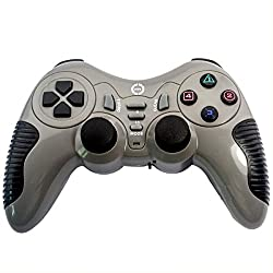 Mobilegear Wireless Bluetooth USB Gaming Single Player for Laptop & Computers - Grey