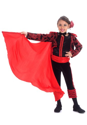 Big Girls' Mini Matador Costume