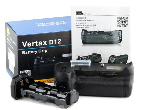 Pixel Vertical Battery Grip for Nikon D800 D800E MB-D12 MBD12