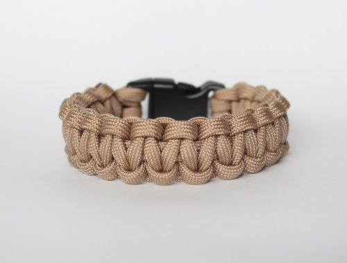 SENC-550-Military-Spec-Paracord-Survival-Bracelets-Tan